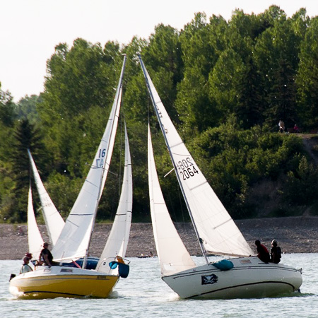 Glenmore Sailing Club - Blue Flags (for new and learning